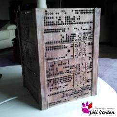 Joli Carton - Cagette - Lampe - Lampe de table - 1ampoule(s)