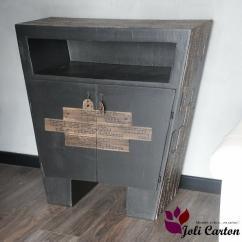 Joli Carton - Chinattan - Commode - Carton
