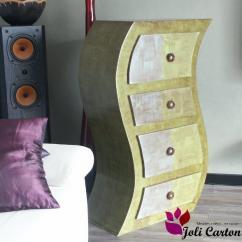 Joli Carton - Curvea - Commode - Carton