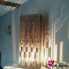 Joli Carton - Lampe New-York - Lampe de table - 1ampoule(s)