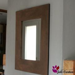 Joli Carton - Rouille - Miroir -