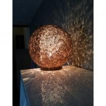 Joli Carton - Sphère - Lampe de table - 1ampoule(s)