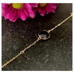 Joséphine Point Barre - - Masha - - Bracelet - Plaqué Or gold filled