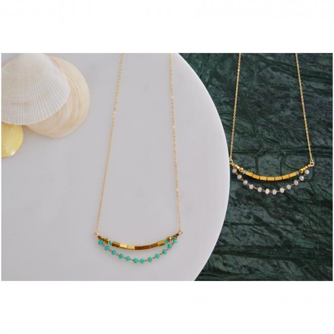 Joséphine Point Barre - - Teresa - - Collier - Or (gold filled)