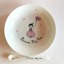 Judith Leviant porcelaine - Assiette princesse - Assiette - Rose