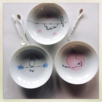 Judith Leviant porcelaine - Porcelaine personnalisable peinte avec beaucoup de soin et d'amour!