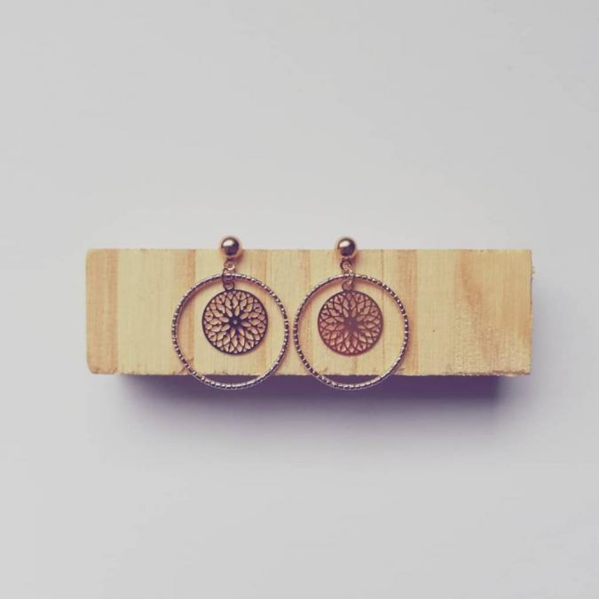 Judyte - Boucle MIA - Boucles d'oreille - argent