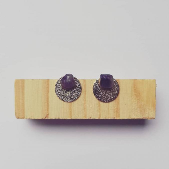 Judyte - Boucle ULA - Boucles d'oreille - argent
