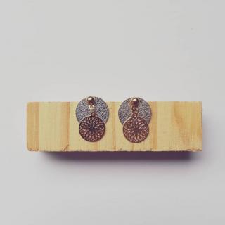 Judyte - Boucles EVA - Boucles d'oreille - argent