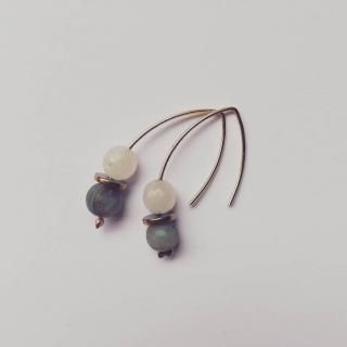 Judyte - Boucles LUNA - Boucles d'oreille - Autre