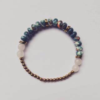 Judyte - Bracelet LOLA - Bracelet - Tissu