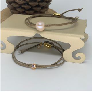 Just-Barth - Just Diamond Leather - Bracelet - Cuir