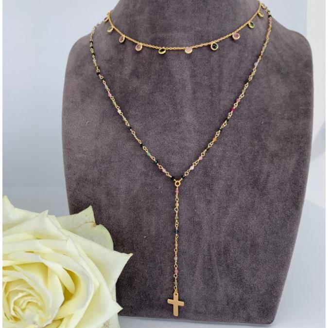 Just-Barth - Just Mutli Rosary - Collier - Cuir