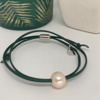 Just-Barth - Just Pearl Leather - Bracelet -