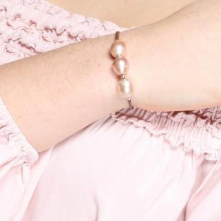 Just-Barth - Rose Caraïbes - Bracelet - Cuir