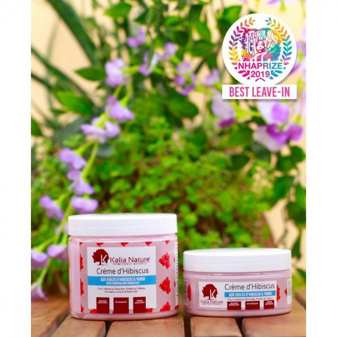 Kalia Nature - Crème D'Hibiscus - Soin Multi-Usages - 300 ml - Soin pour les cheveux - 0.600