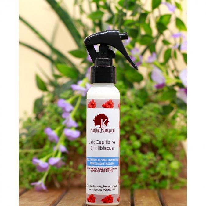 Kalia Nature - Lait Capillaire À L'Hibiscus - 100 ml - Soin pour les cheveux - 0.250