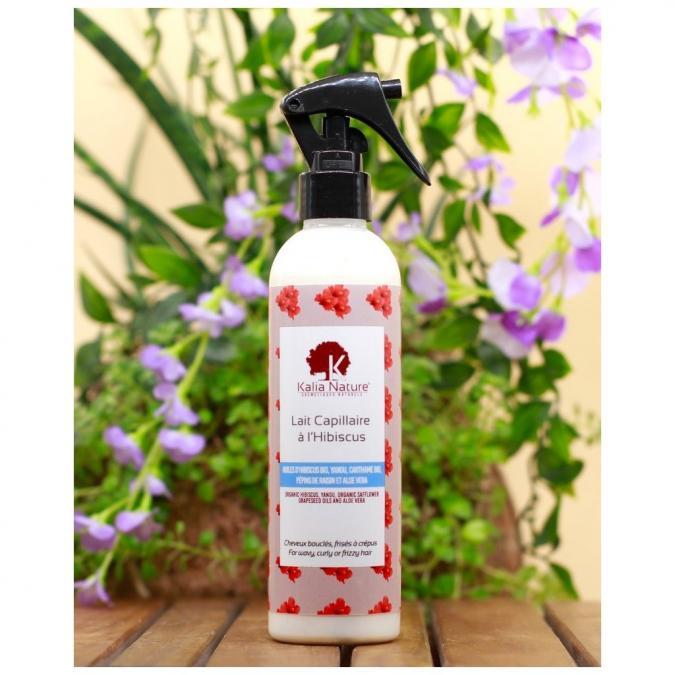 Kalia Nature - Lait Capillaire À L'Hibiscus - 250 ml - Soin pour les cheveux - 0.400