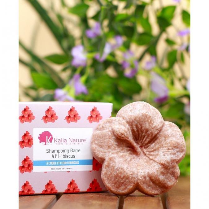 Kalia Nature - Shampoing Barre À L'Huile Et Fleurs D'Hibiscus 60gr - Shampoing - 0.06