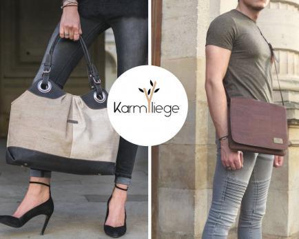 Karmyliege création - Création de sacs et bijoux en liège végan pour homme et femme