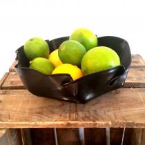 Karteko - Corbeille ou vide-poches en vinyle recyclé - Coupe à fruit