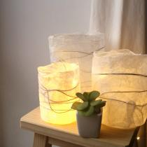Karteko - LOT DE 3 LAMPIONS EN PAPIER - Lampion
