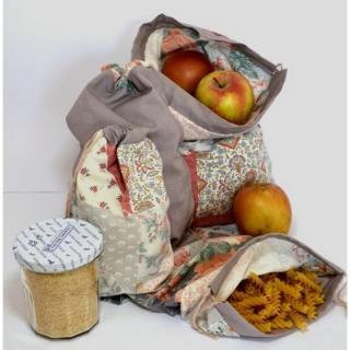 KeinuOna - Lot de 4 sacs à vrac - April - sac à vrac