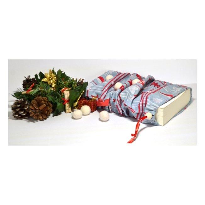 KeinuOna - Pochon cadeau Taille L - Prancer - Emballage réutilisable
