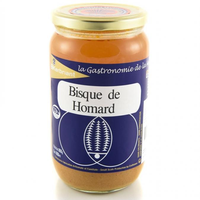 KERBRIANT - Bisque de Homard 800g - Conserve et soupe de poisson