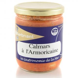 KERBRIANT - Calmars à l'Armoricaine - Conserve et soupe de poisson