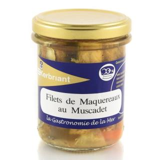 KERBRIANT - Filets de Maquereaux au Muscadet - Conserve et soupe de poisson