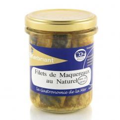 KERBRIANT - Filets de Maquereaux au naturel (sans sel ajouté) - Conserve et soupe de poisson