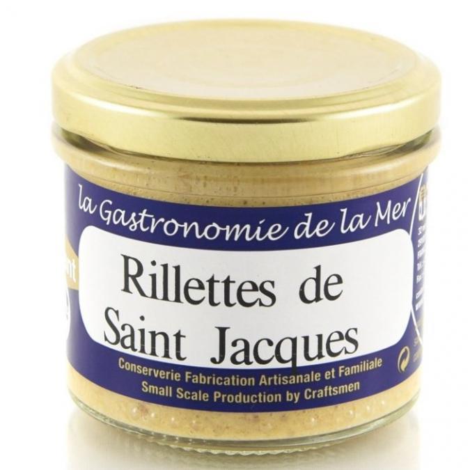 KERBRIANT - Rillettes de Noix de Coquilles Saint Jacques 90g - Conserve et soupe de poisson