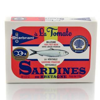 KERBRIANT - Sardines à la tomate - Conserve et soupe de poisson