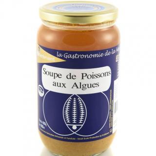 KERBRIANT - Soupe de Poissons aux Algues 800g - Conserve et soupe de poisson