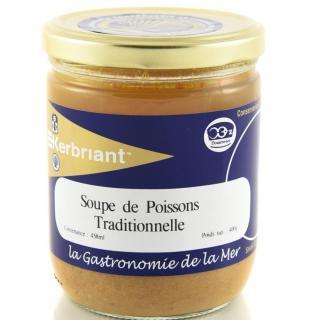 KERBRIANT - Soupe de Poissons Traditionnelle 400g - Conserve et soupe de poisson