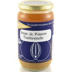 KERBRIANT - Soupe de Poissons Traditionnelle 800g - Conserve et soupe de poisson