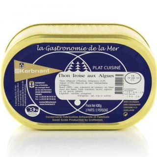 KERBRIANT - Thon Iroise aux Algues - Conserve et soupe de poisson