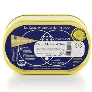 KERBRIANT - Thon Maître d'Hôtel - Conserve et soupe de poisson
