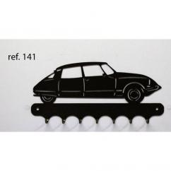 KISSKISSMETAL - Accroche clefs en metal 26 cm motif: DS Citroën - Accroche-clef