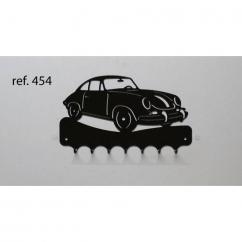 KISSKISSMETAL - Accroche clefs en metal 26 cm Motif: Porsche 356 - Accroche-clef