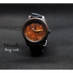 KRISTAN TIME - Bog chêne montre bois - Montre
