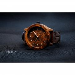 KRISTAN TIME - Montre en bois Watch - Montre