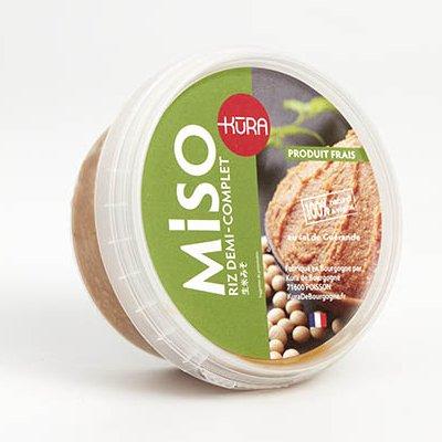 Kura de Bourgogne - Miso Moyen de Riz et Soja Jeune (10mois)-100g - Miso