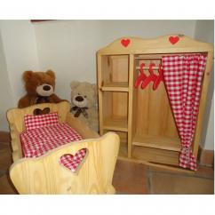 L'atelier de Vany - Armoire pour poupée - Armoire pour poupée