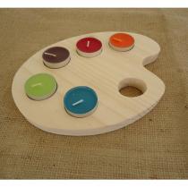 L'atelier de Vany - Palette bougeoir - Bougeoir - bougie(s)