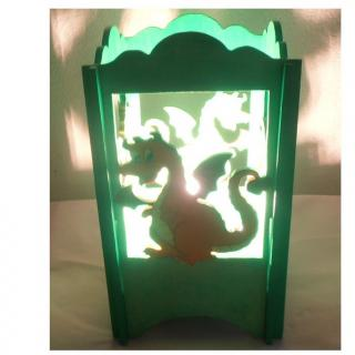 L'éveil du bois - LAMPE DE CHEVET DRAGON - Lampe de chevet - ampoule(s)
