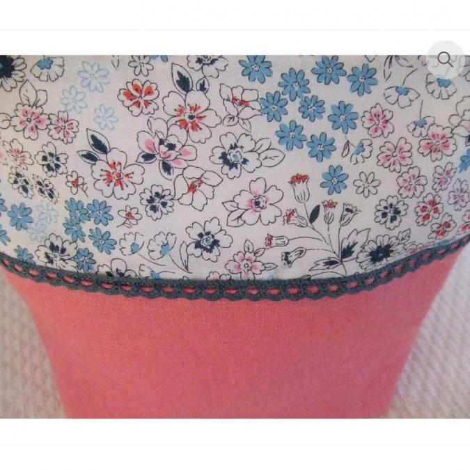 Danielle HARY - Trousse de toilette - Dimensions :  L 21.5 H 17 Base 8 cm - Accessoire de mode femme
