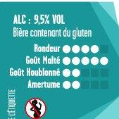 La Bulle Carrée - Antigel - Bière - Ambrée aux Epices - Bouteille - 0.33L