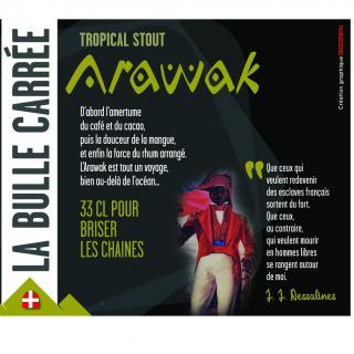 La Bulle Carrée - Arawak - Bière - Brune IPA - Bouteille - 0.33L